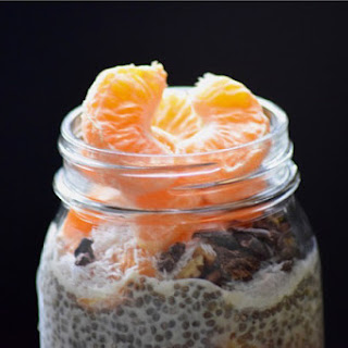 4-ingredient Dreamsicle Chia Seed Pudding