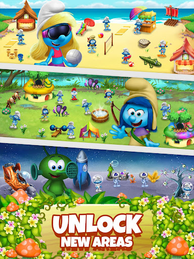 Smurfs Bubble Shooter Story 2.15.050204 screenshots 12