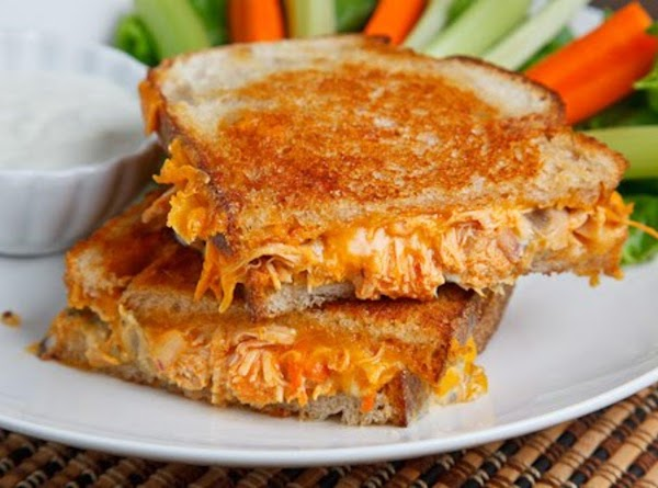 Buffalo Chicken Grilled Cheese Sandwich Recipe