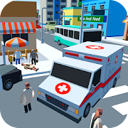 Ambulance Driver - Extreme city rescue