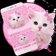 App Cute Pink Kitty Keyboard APK for Windows Phone