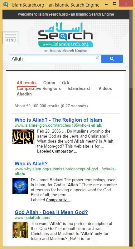 IslamSearch- screenshot