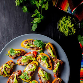 Tex Mex Sweet Pepper Poppers