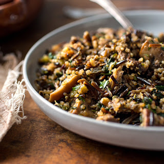 Wild Rice and Quinoa Stuffing