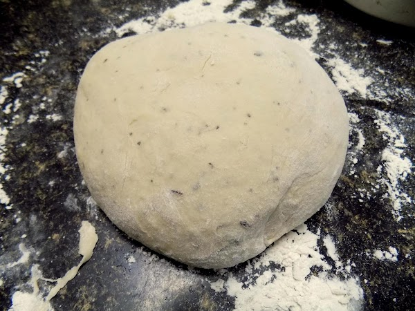 For pizza dough:In large mixer bowl, combine water, yeast, sugar and salt. Let sit...