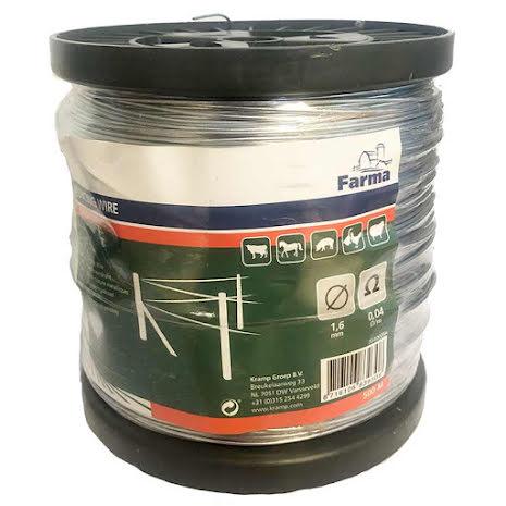 Järntråd Farma 1,6 mm Rulle 500 meter