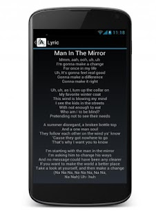 Song Lyrics Music Free Screenshot