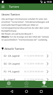 TuS Germania Lohauserholz e.V. – Miniaturansicht des Screenshots