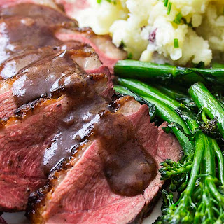Seared Duck Breast with Port Cherry Sauce Recipe