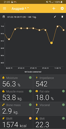 Master for Amazfit 1.7.0 screenshots 7