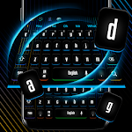 Modern Swift Black Keyboard Theme 10001001