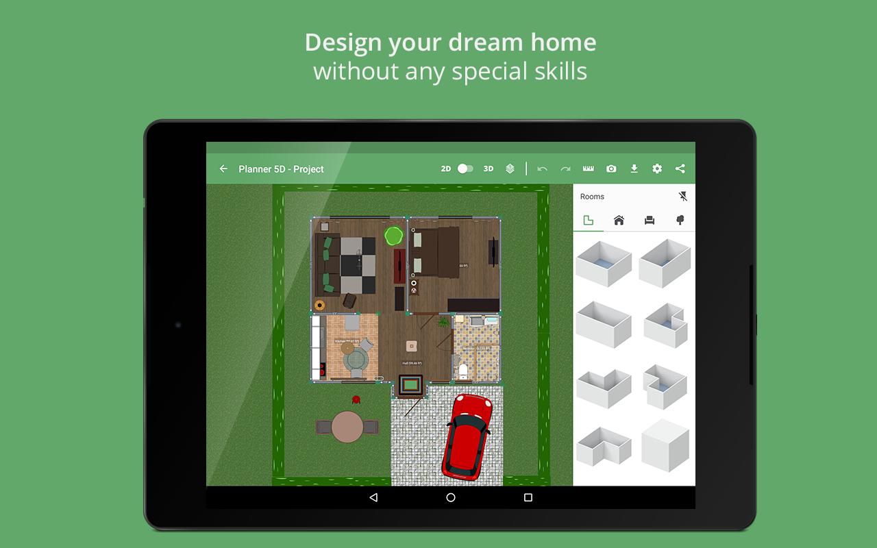 Planner 5DHomeInterior Design CreatorAndroid Apps on