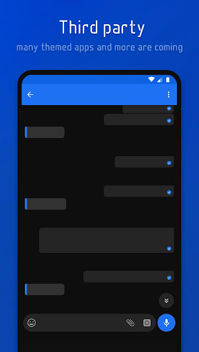 Screenshot for Flux - Substratum Theme in Hong Kong Play Store
