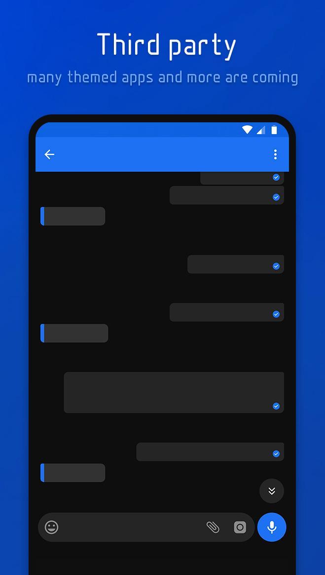Flux - Substratum Theme Screenshot 11