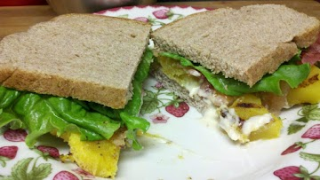Bacon Maple & Acorn Squash Sandwich Recipe