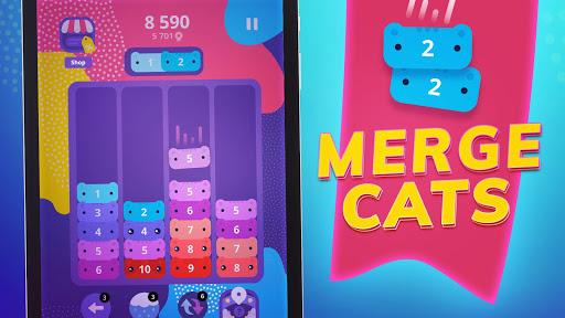 CATRIS - Merge Cat   Kitty Merging Game 1.10.1.0 screenshots 6