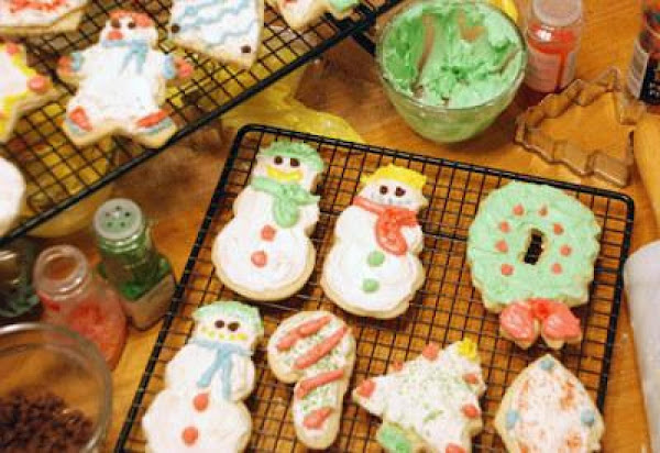 Sugar Cookies With Buttercream Frosting Recipe