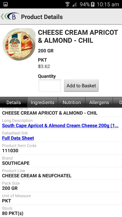 Bidfood Australia- screenshot