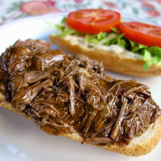 New Orleans Roast Beef Po-Boy.