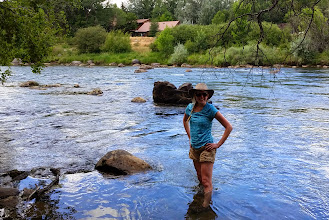 Photo: Cooling off in the Animas River in Durango