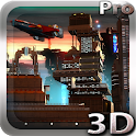 Space Cityscape 3D LWP icon