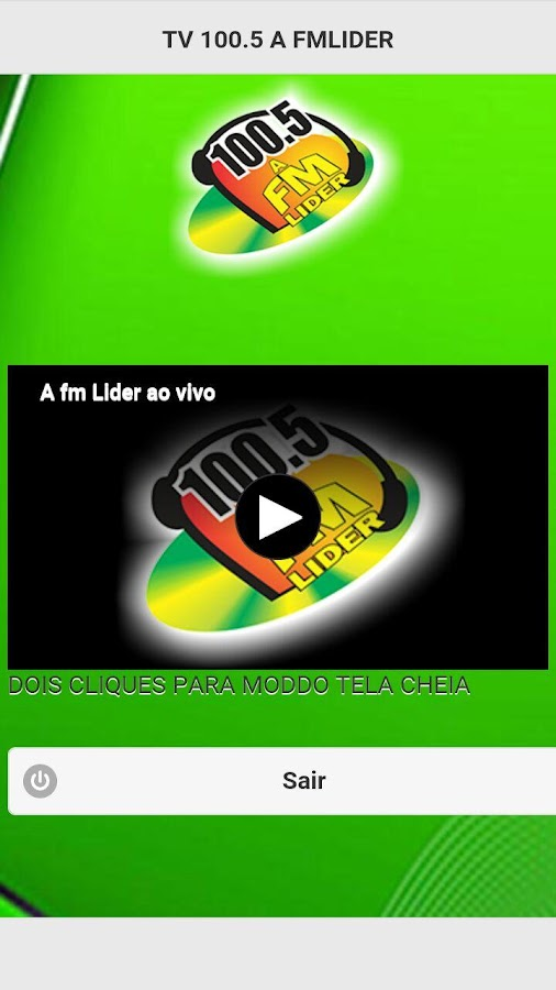 TV 100.5 A FMLIDER- screenshot