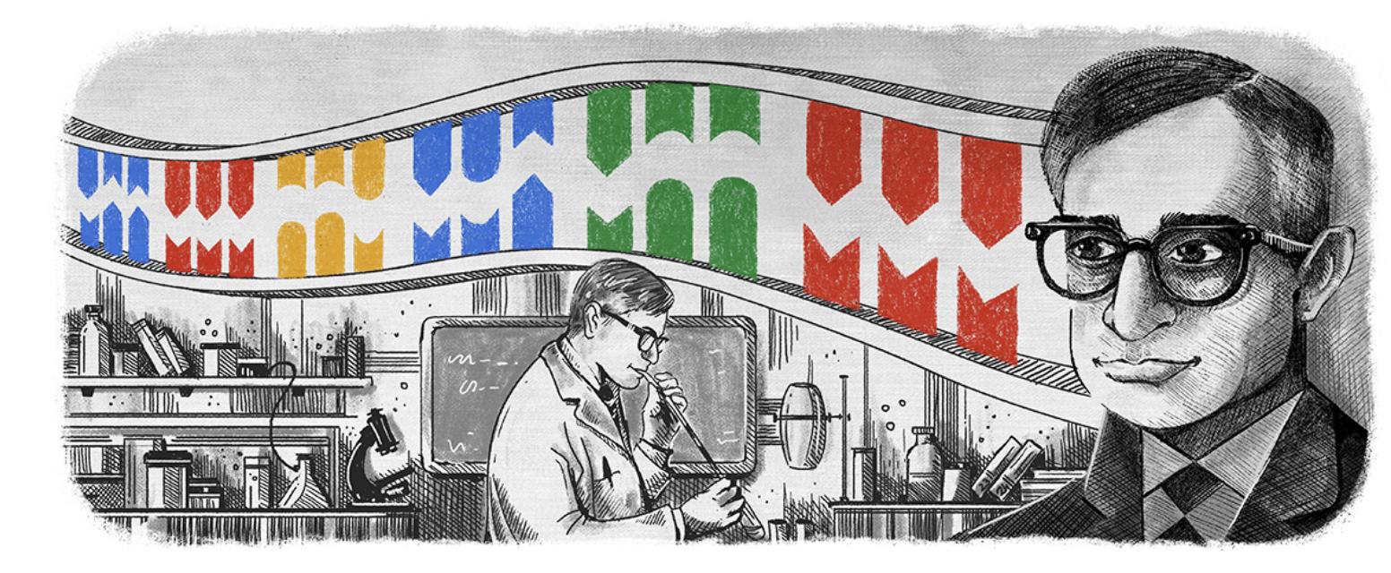 Google Doodle - Har Gobind Khorana