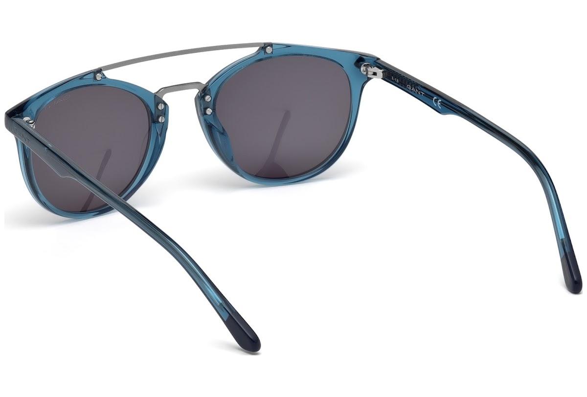 1113150781 Buy Gant GA7087 C49 84A (shiny light blue   smoke) Sunglasses