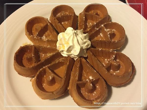 立裴米緹咖啡館♥推薦美味麻糬鬆餅