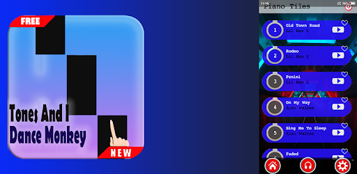 Download Tones I Dance Monkey Piano Tiles 2020 Apk For Android