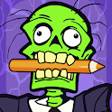 Zombie Coloring Pages with Animated Horror Effects icon