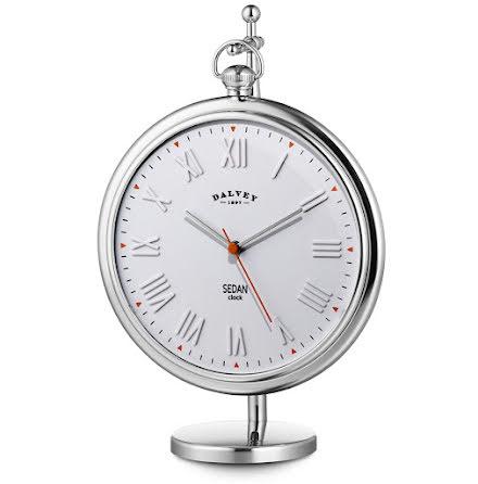 Dalvey Sedan Clock White