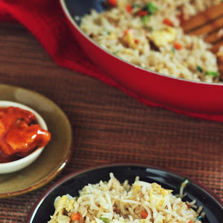 Egg Fried rice recipe-How to make simple egg fried rice
