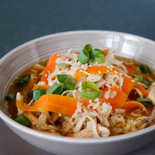 Spicy Korean Chicken & Rice Soup.