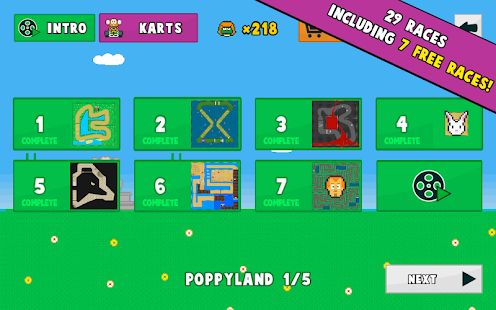 Poppy Kart Screenshot
