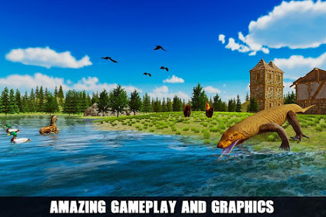 Angry Komodo Dragon: Epic RPG Survival Game 3