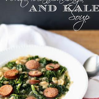 White Bean, Sausage, and Kale Soup