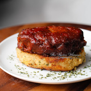 BBQ Meatloaf Stacks