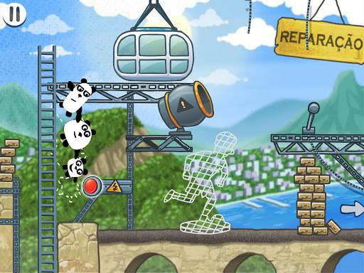 3 Pandas Brazil Escape, Adventure Puzzle Game 1.0.1 screenshots 6