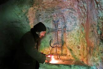Photo: L'intérieur de la grotte