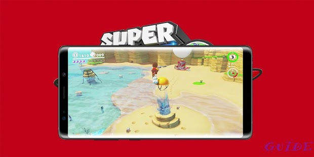 Game Mario Odyssey Guide - náhled