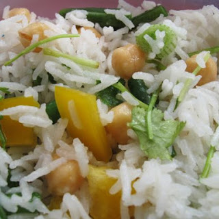 Lemon Rice With Chickpeas