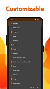 Simple Contacts – Manage & access contacts easily Mod 6.12.4 Apk [Unlocked] 5