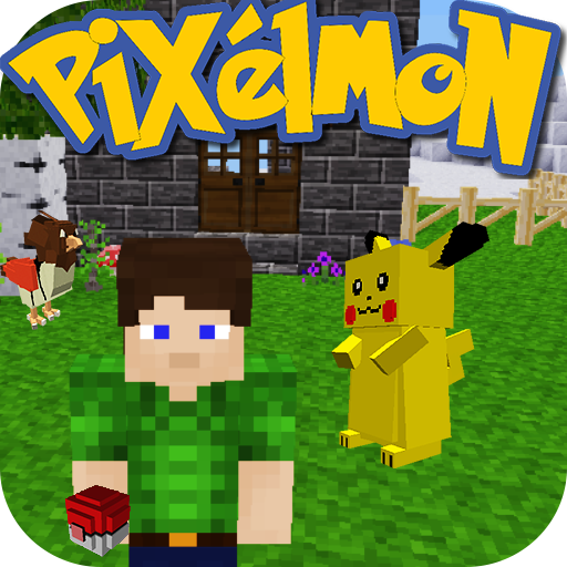 Pixel Craft Exploration All IV: Pixelmon Story mod