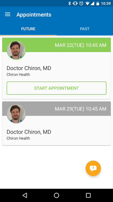 Chiron Health- screenshot