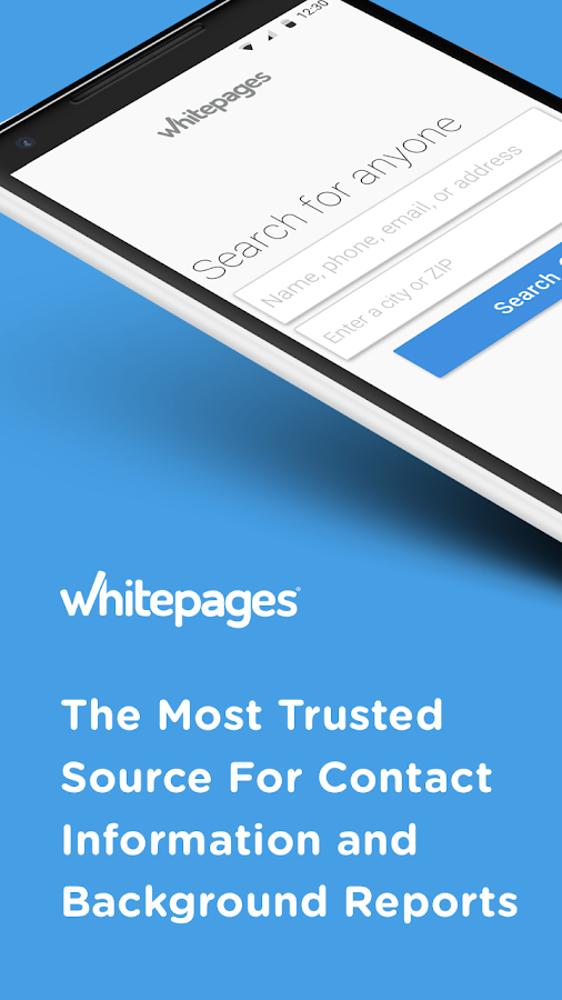 Whitepages Background Checks- screenshot