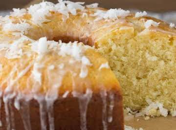 Flordia Coconut Pound Cake