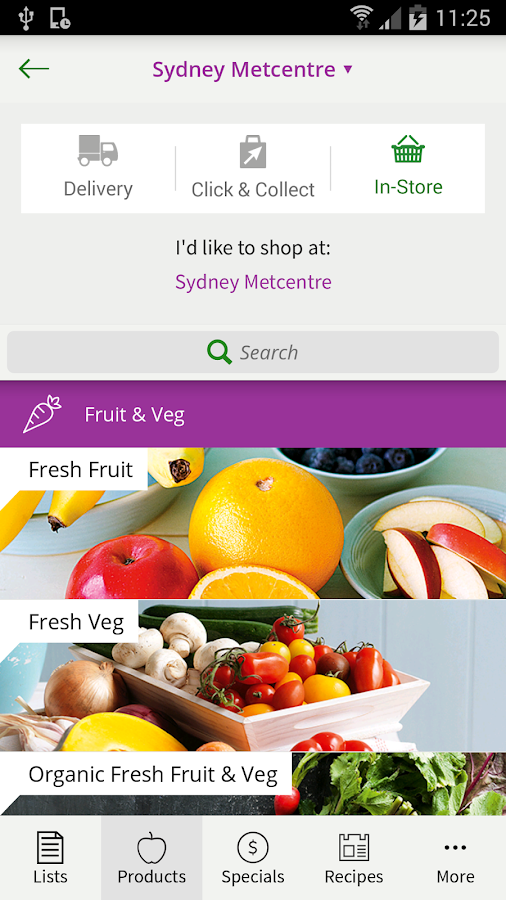 Woolworths- screenshot