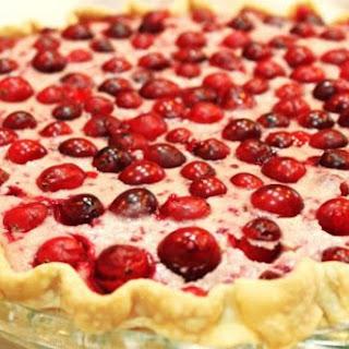 Cranberry Cheesecake Pie