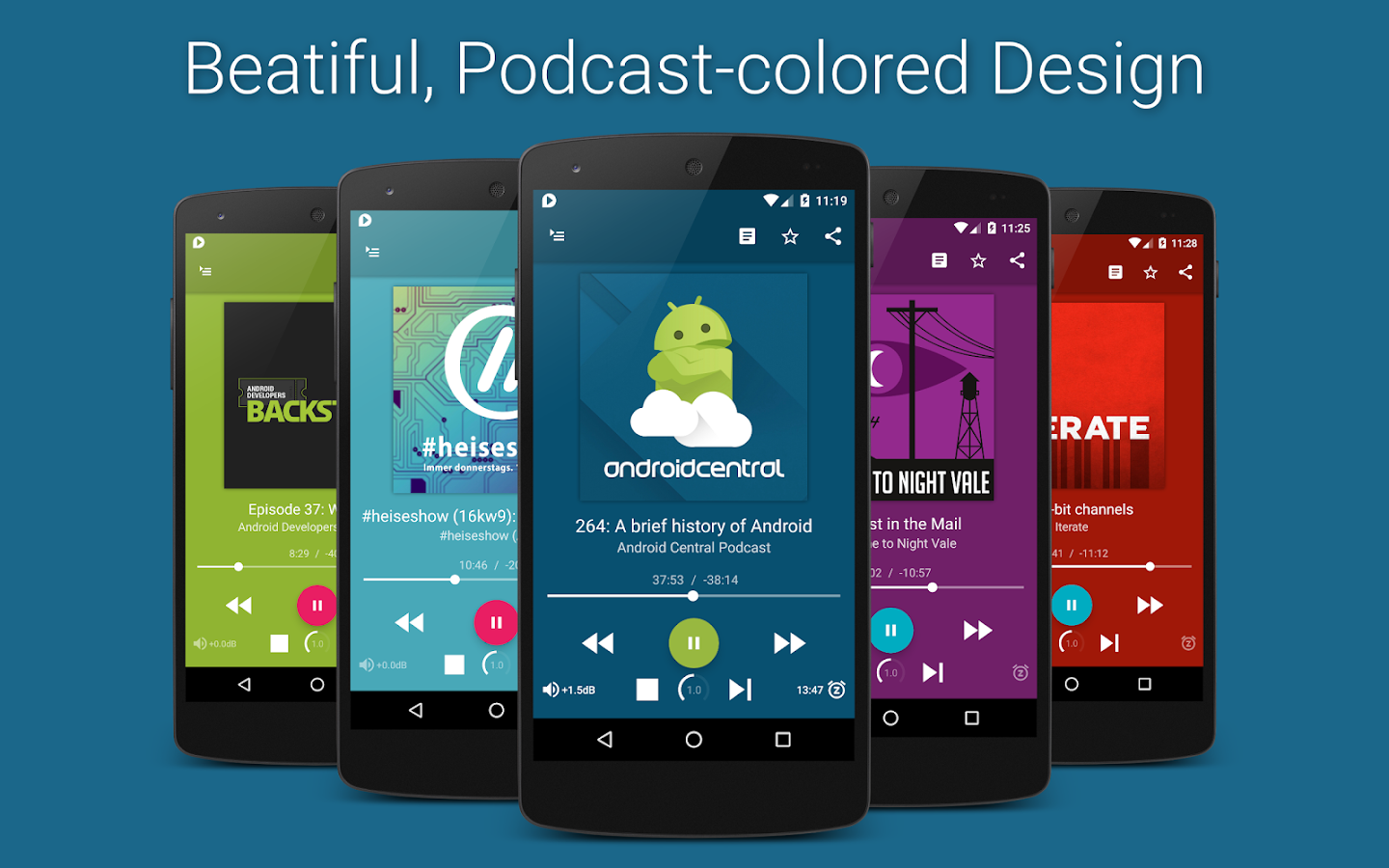 uPod Podcast Player- screenshot